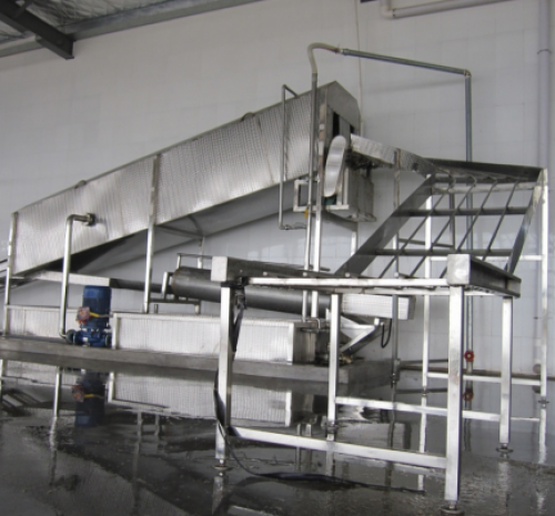 poultry turnover basket cleaning machine /chicken cages washing machine/ Poultry Slaughter Line Cage Cleaning Machine