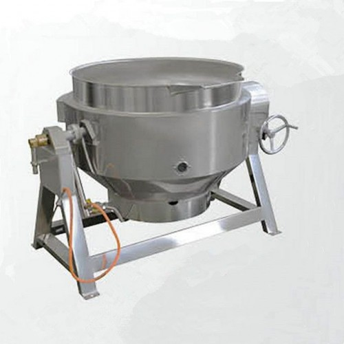 Commercial Gas heating stirring sandwich pot jacketed pot cooking pot