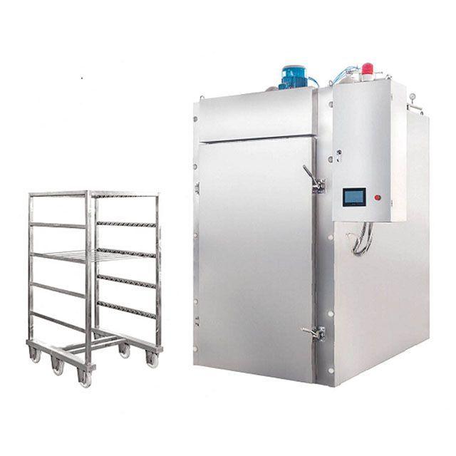High efficiency fish smoking oven/meat smoker/sausage smokehouse