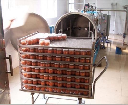 Electric or steam heating high pressure laboratory retort sterilization pot autoclave
