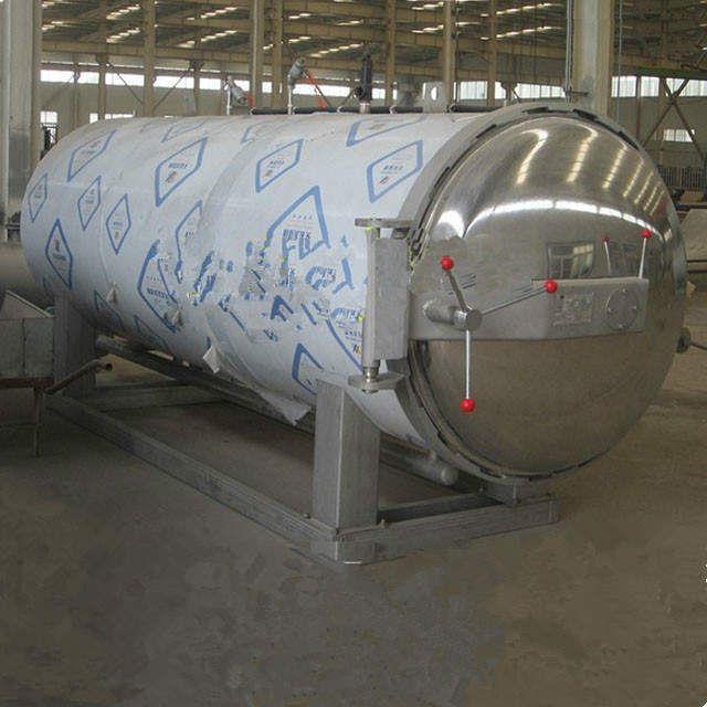 Steam or water used single pot double door autoclave sterilizer sterilization pot