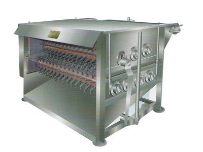 Horizontal type chicken feather removing machine chicken plucker chicken feather removal machine