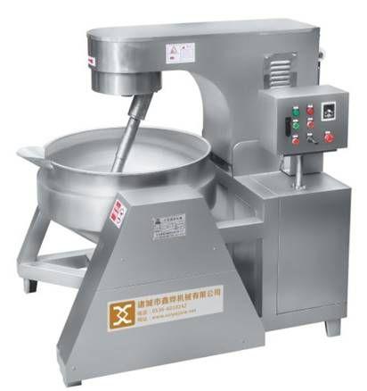 Planetary Stir Fry Pan industrial food cooking pot sandwich pot